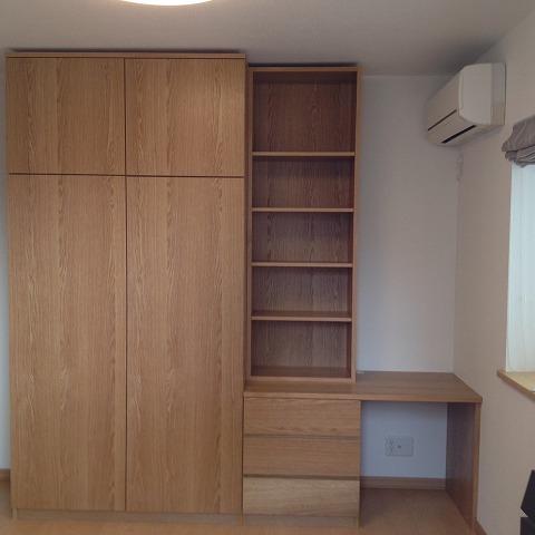 納品ブログ-オーダーメイドの家具「造作家具」-