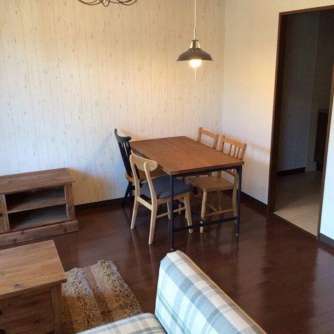 納品ブログ -賃貸マンションの一室をプチリノベ-