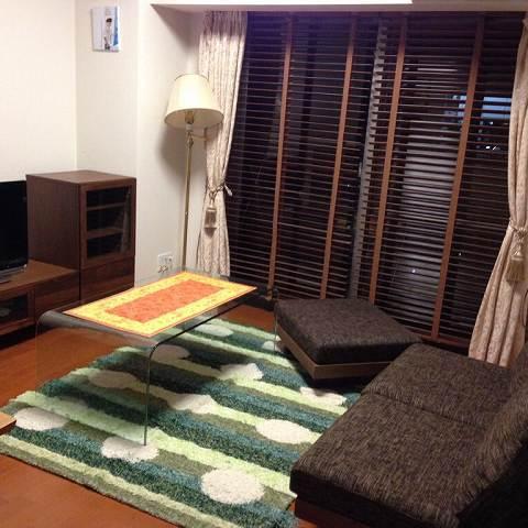 納品ブログ -ウォールナット家具へ模様替え-