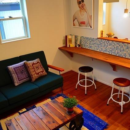 納品ブログ -シンプルなデザインハウスにお洒落スパイスを-